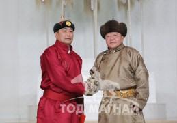 Монгол Улсын Алдарт уяач А.Отгонбаяр