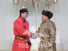Монгол Улсын Алдарт уяач Х.Бадамсүрэн