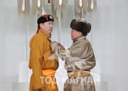 Монгол Улсын Алдарт уяач Т.Болдбаатар