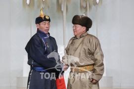 Монгол Улсын Алдарт уяач Б.Бүрэнтөр