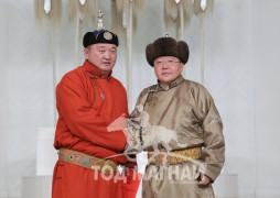 Монгол Улсын Алдарт уяач Т.Ихбаяр