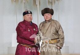 Монгол Улсын Алдарт уяач Р.Мянгмардорж