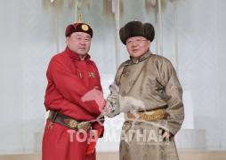 Монгол Улсын Алдарт уяач Ө.Пүрэвбаатар