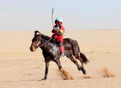Айргийн дөрөвт Монгол Улсын Алдарт уяач П.Сэргэлэнгийн хээр