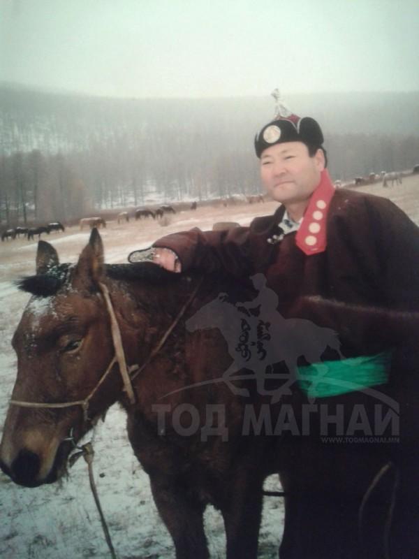 Монгол улсын манлай уяач Монхор
