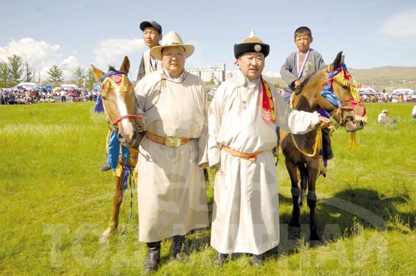 Монгол улсын манлай уяач ЦЭНГЭЛ