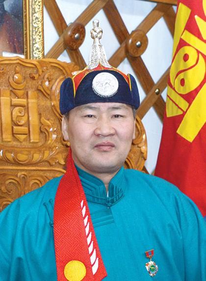 Монгол улсын алдарт уяач Дэлгэрбаяр