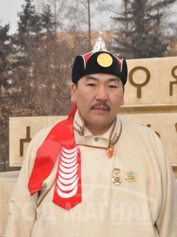Монгол улсын тод манлай уяач ЦАНДЭЛЭГ