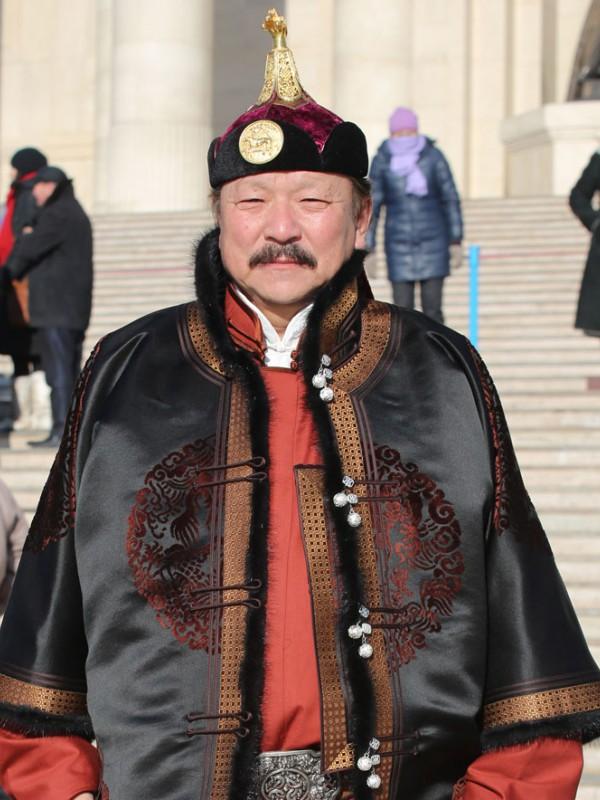 Монгол улсын тод манлай уяач Содномцог