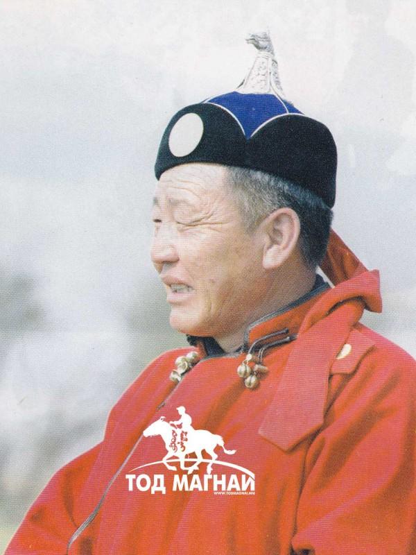 Монгол улсын манлай уяач Ганбаатар
