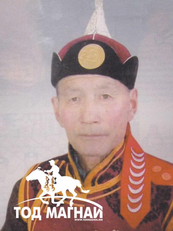 Монгол улсын манлай уяач Чойдог