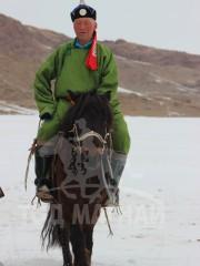 Монгол улсын алдарт уяач Санжаа