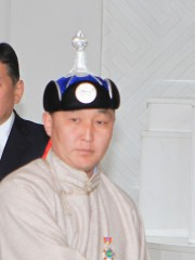Монгол улсын алдарт уяач Ганбаатар