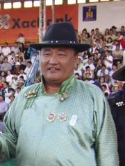 Монгол улсын манлай уяач Гантөмөр